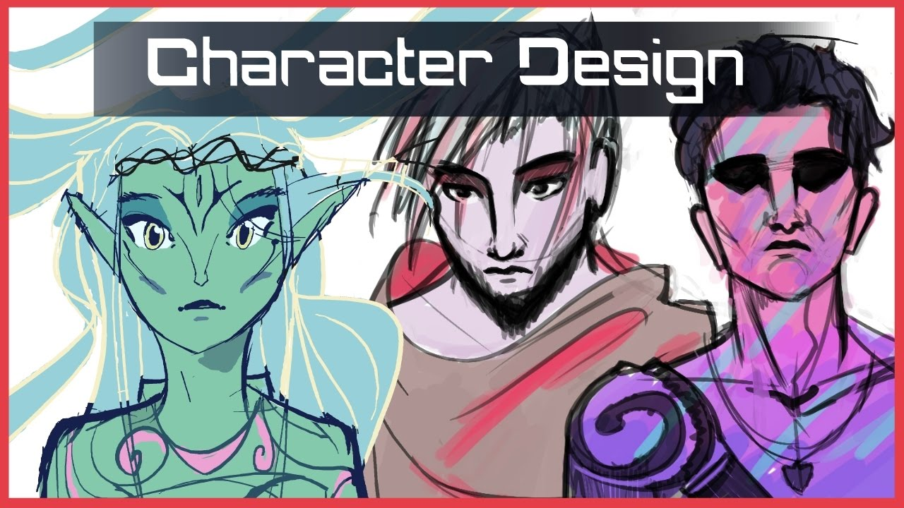 How To Design Characters For Animation Youtube