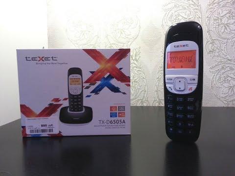 TeXet TX D6505A распаковка и обзор