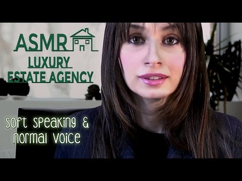 ASMR ROLE PLAY 🏠 Agenzia immobiliare: soft & normal voice