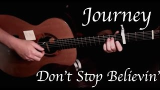 Journey - Don't Stop Believin' - Fingerstyle Guitar