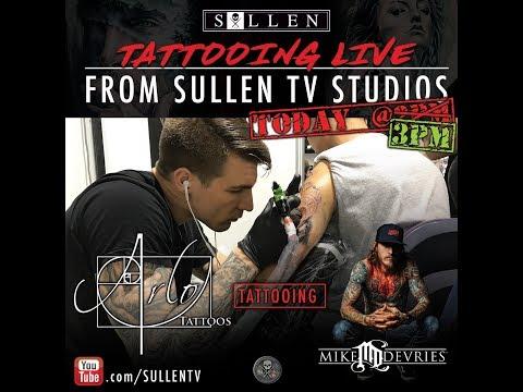 Live Tattoo | Arlo tattoos Mike DeVries