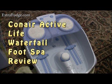 Conair Active Life Waterfall Foot Spa Review