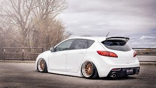 White Bagged Mazdaspeed 3