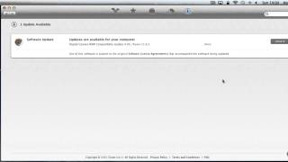 How run software updates on your Mountain Lion Apple Mac computer | The Human Manual