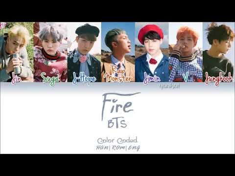 BTS fire~ lyrics