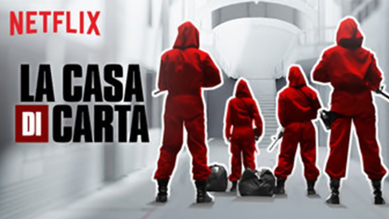 La casa di carta  Trailer Italiano  Netflix  La casa de papel  YouTube
