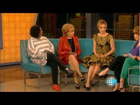 Dianna Agron Interview on The View - April 9 2012