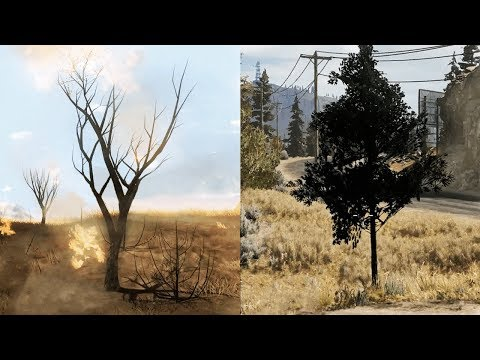 Far Cry 2 details vs Far Cry 5