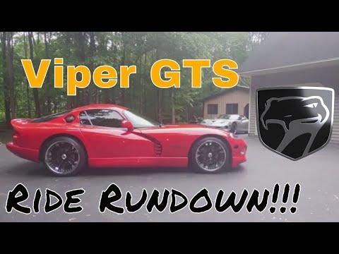 Viper GTS Ride Rundown Mopar Dodge Review Test Drive V10 Custom