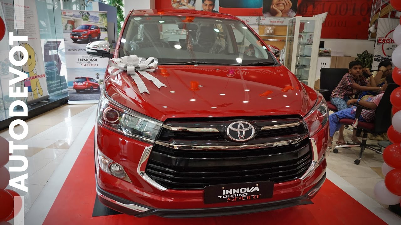 2018 toyota innova touring sport. Fine 2018 Toyota Innova Touring Sport Looks Hot In WildFire Red With 2018 Toyota Innova Touring Sport L