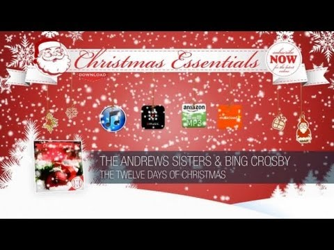 The Andrews Sisters & Bing Crosby - the Twelve Days of Christmas // Christmas Essentials