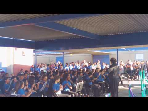 "Beginning band of ""Hollencrest Middle School"""