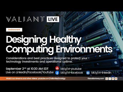 Designing Healthy Computing Environments