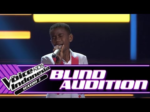 Hendrik - Mama Papa Larang | Blind Auditions | The Voice Kids Indonesia Season 3 GTV 2018