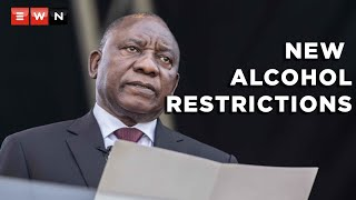 President Cyril Ramaphosa has announced stricter restrictions on alcohol sales. This as he moved the country to alert level three on 15 June 2021 amid rising COVID-19 infections and deaths.  #Covid19news #Level3 #CoronavirusSA