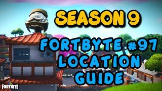 Fortnite - FORTBYTE #97 LOCATION GUIDE - Hidden Within Loading Screen #8