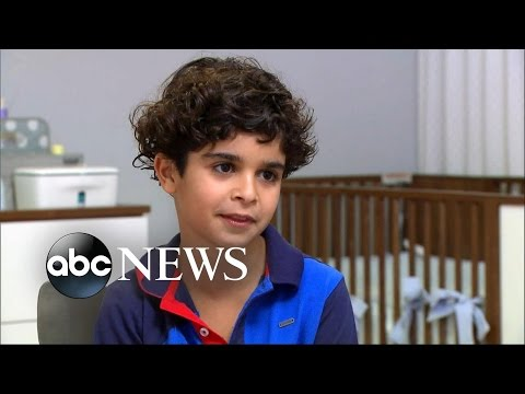 9-Year-Old Miraculously Saves Baby Brother From Fall