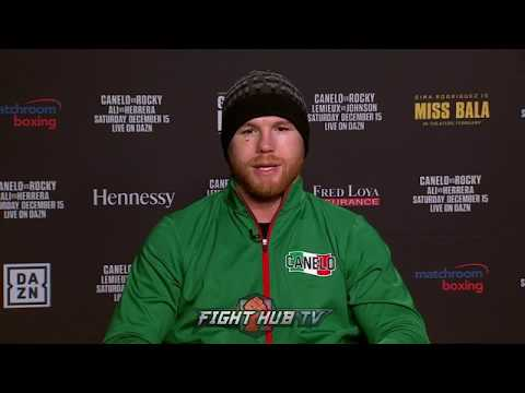 "CANELO ALVAREZ ON 3RD GENNADY GOLOVKIN FIGHT ""MAYBE A REMATCH IN 2019, WE WILL SEE"""