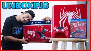 SPIDER-MAN PS4 PRO - Limited Edition - Unboxing
