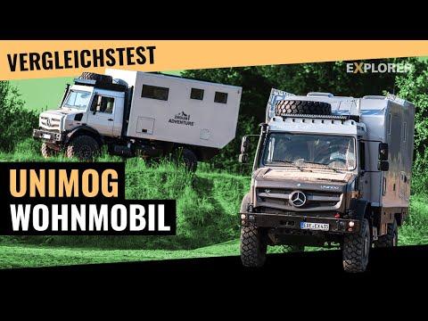 Unimog Expeditionsmobil ■ Test ■ Bimobil EX435 gegen Ziegler Adventure Moghome