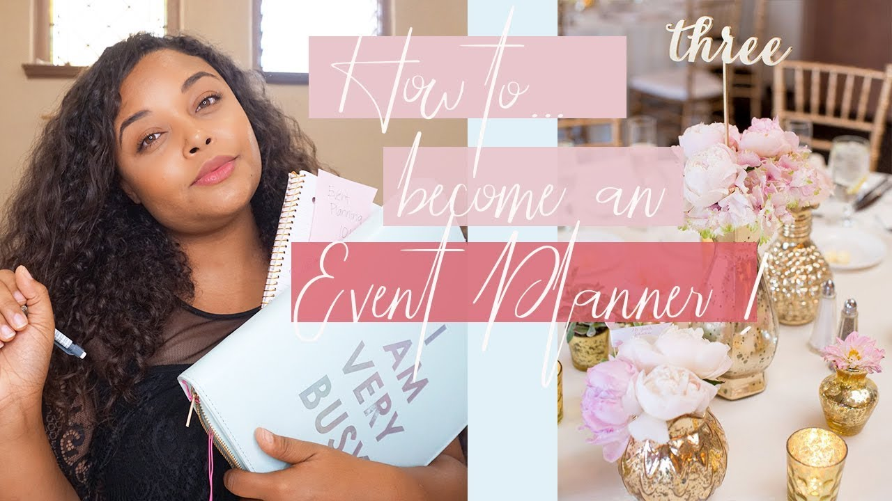 Download How to become an Event Planner!! ll Get certified? What's the best major to get a degree?