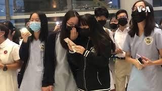 """香港中学生参与反送中运动:""""因为我是香港人"""""""