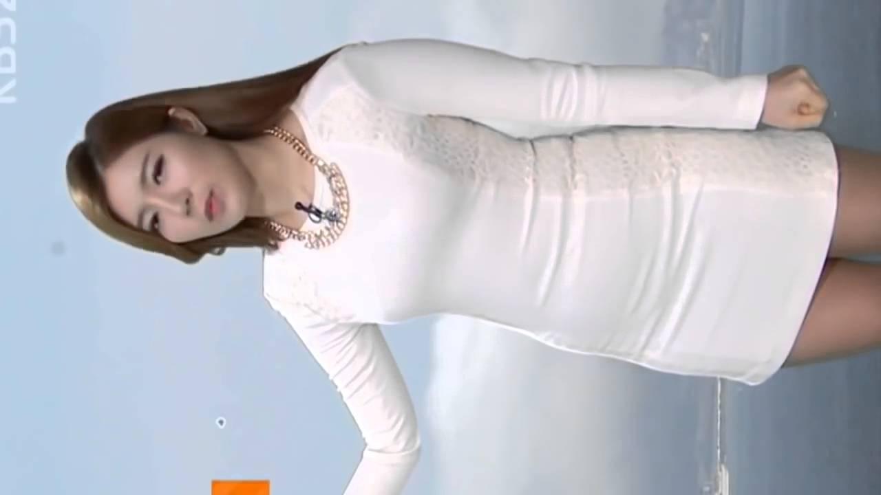 이수진 기상캐스터 직캠 2 Portrait Mode HD 韓国セクシーアナウンサーミニスカート sexy announcer anunciador atractivo