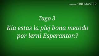 3a Tago – Kia estas la plej bona metodo por lerni Eon? #30DCYC