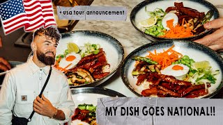 MY FOOD GOES TO OVER 140 RESTAURANTS. ? & USA tour announcement