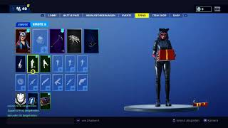 Fortnite Season 7 Lynx Skin With Emote Unpacked and Contemplative Passes