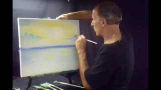 Oil Painting Seascape Pastel Sky and Ocean Volume 6 Lesson # 102