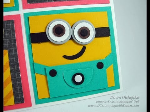 Minion Punch Art Birthday Sampler Youtube