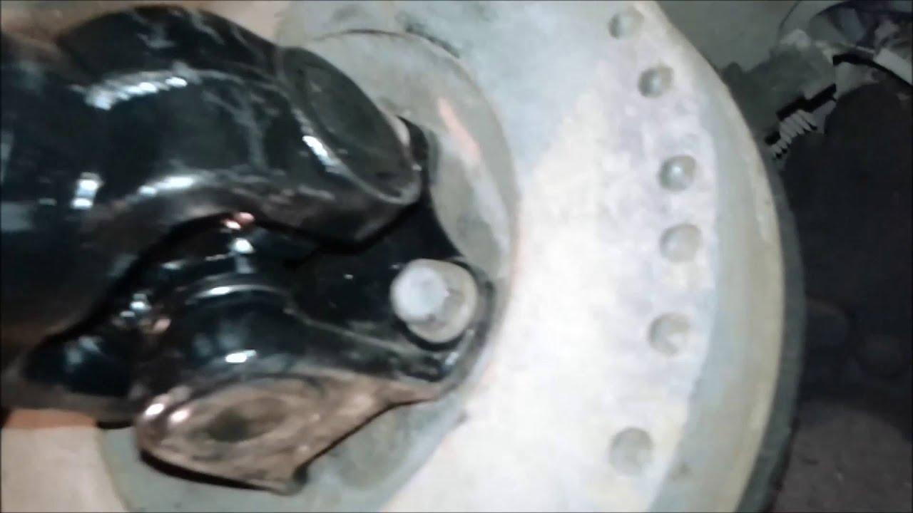 УАЗ. ПАТРИОТ кардан подвесной вибрация биение - YouTube