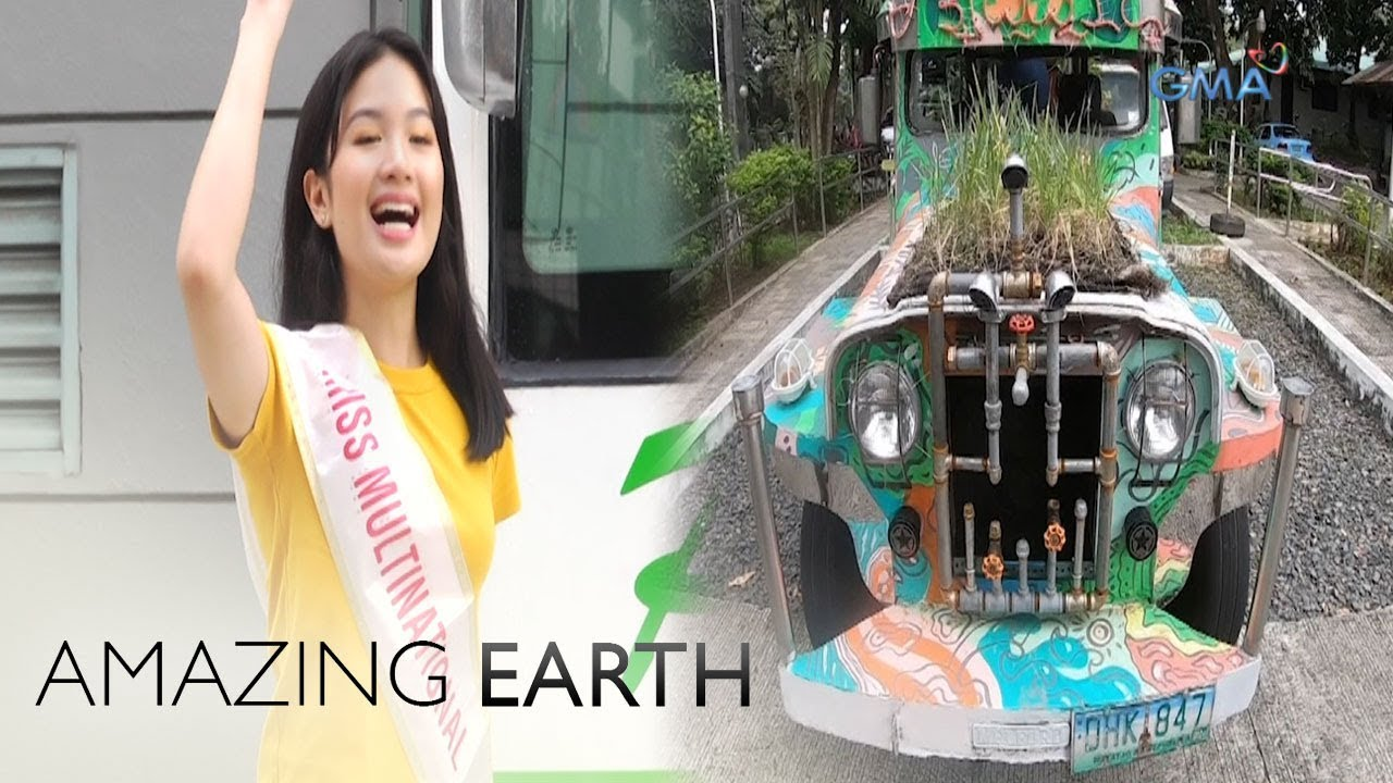 Amazing Earth: Sophia Senoron gets to try the jeepneys of the future!