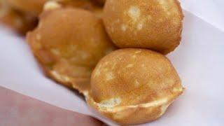 Hong Kong Egg Waffles  (Using Pop-cake maker)