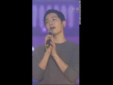 160528 송중기 Song Joong Ki FM sing 'Always' Descendants Of The Sun OST 태양의 후예OST