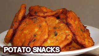 Potato Snacks Recipe  Simple &amp Easy Potato Snacks Recipe At Home  Divine Food
