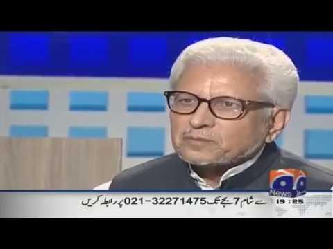 Javed Ahmad Ghamdi  in GEO News program JUGNU  (16 Aug 2015)