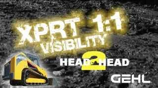 Gehl Head 2 Head Visibility - RT Series Track Loaders