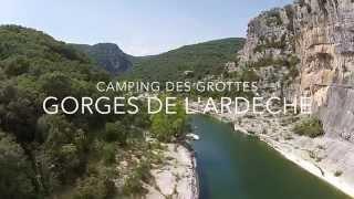 Gorges de l'Ardèche, Camping des Grottes
