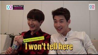 Global We Got Married S2 EP11 Making Film (Super Junior Heechul & Puff) 140618 (슈퍼주니어 김희철 & 곽설부)