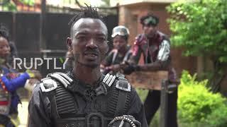 Uganda: Coronavirus locks Congolese 'garbage' band in music studio