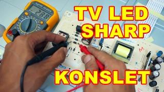 TV LED Sharp 32