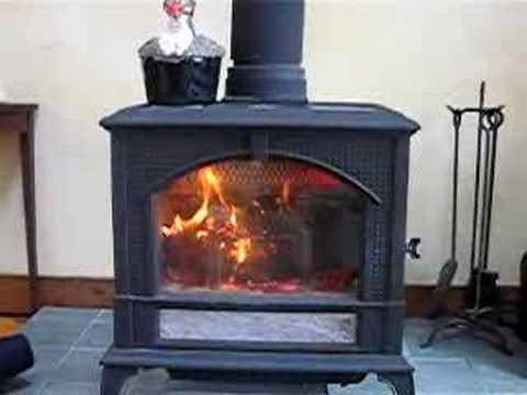 My Woodstock Soapstone Keystone Stove Burning - My Woodstock Soapstone Keystone Stove Burning - YouTube