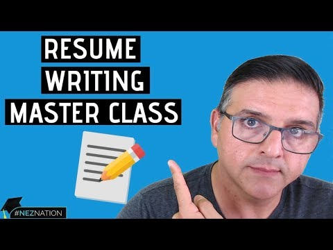 Resume Writing Master Class: 10 Best Resume Template Building Tips (Proven Results)