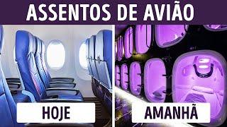 Como serão os futuros aviões de passageiros