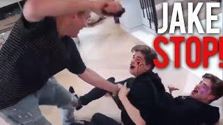 Jake Paul BULLYING Martinez Twins *ABUSIVE* (PART 1)