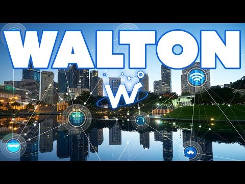 Walton (WTC) - RFID Technology on the Blockchain