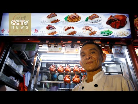 Singapore local hawker center claims Michelin Star