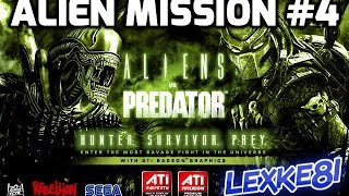 Alien vs Predator (2010) PC-GAME Alien Mission #4 (1080p HD)